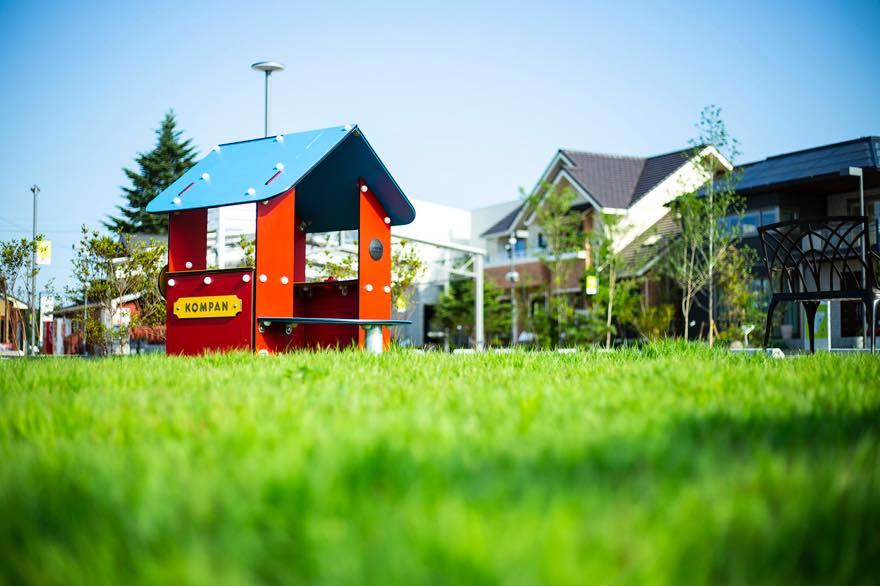 ボーネルンド製の 屋外遊具